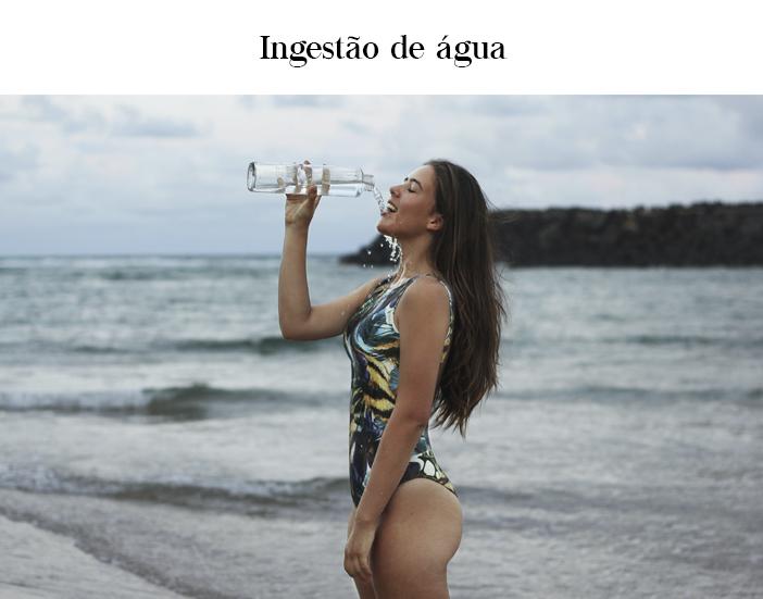 Cuidados essenciais no verão - Ingestão de Água