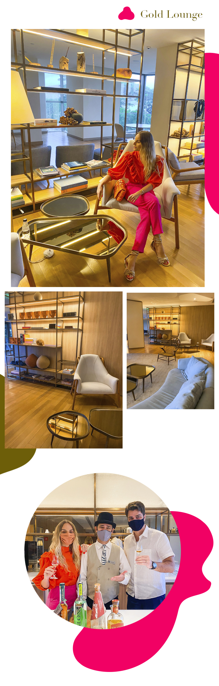 Diário de Bordo - Layla no Fairmont Rio - Gold Lounge