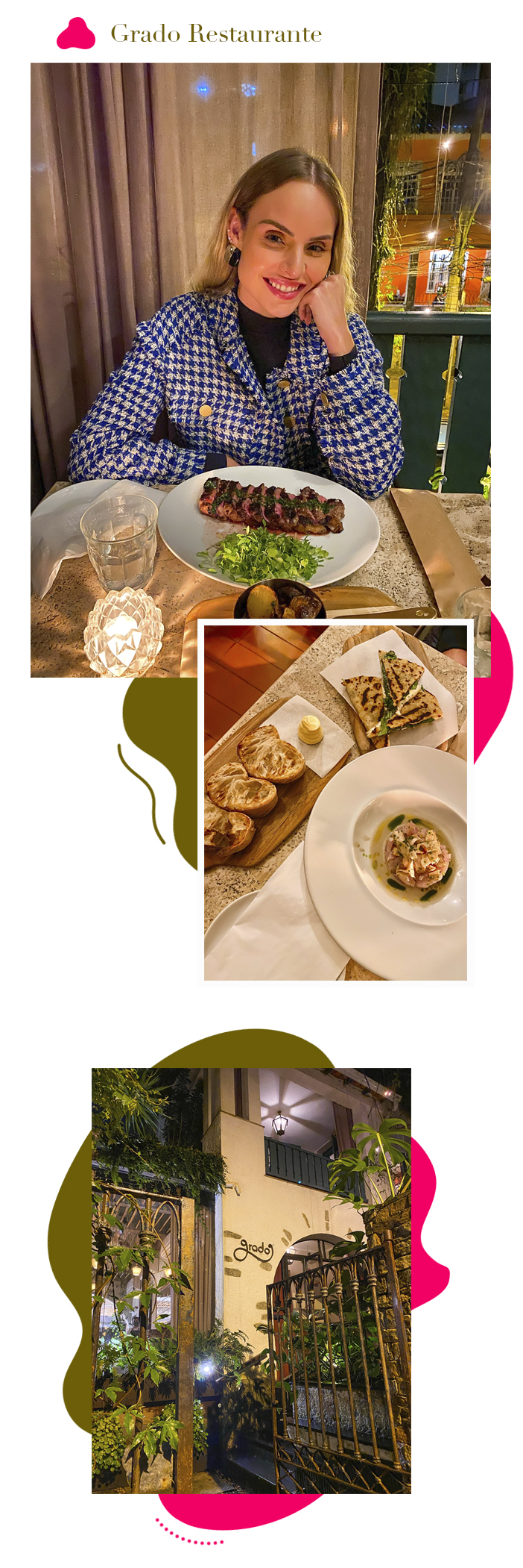 Diário de Bordo - Layla no Fairmont Rio - Grado Restaurante