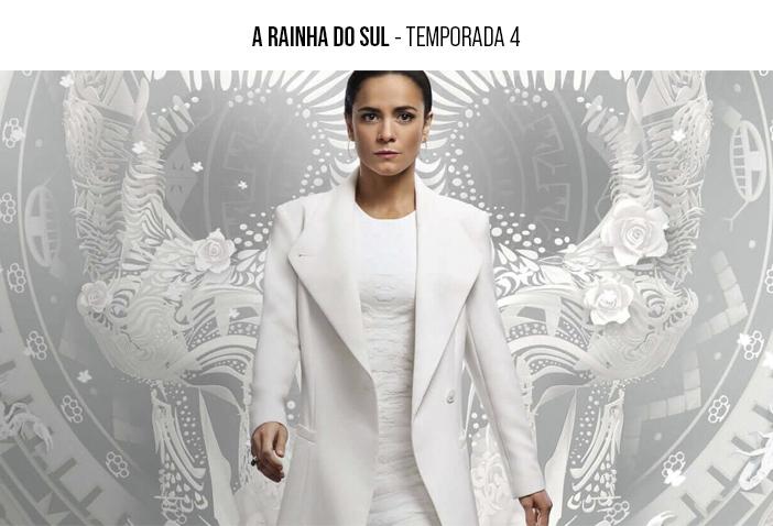 Estreia Netflix - Janeiro 2021 - A Rainha do Sul - Temporada 4