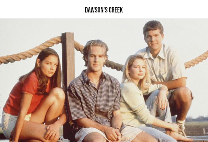 Estreia Netflix - Janeiro 2021 - Dawson's Creek