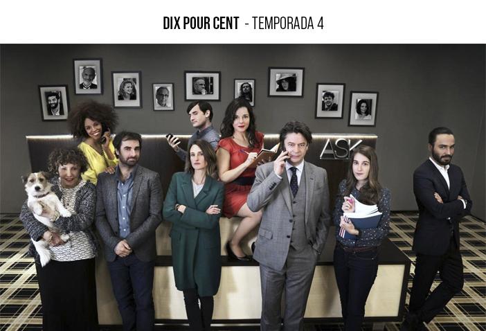 Estreia Netflix - Janeiro 2021 - Dix Pour Cent - Temporada 4