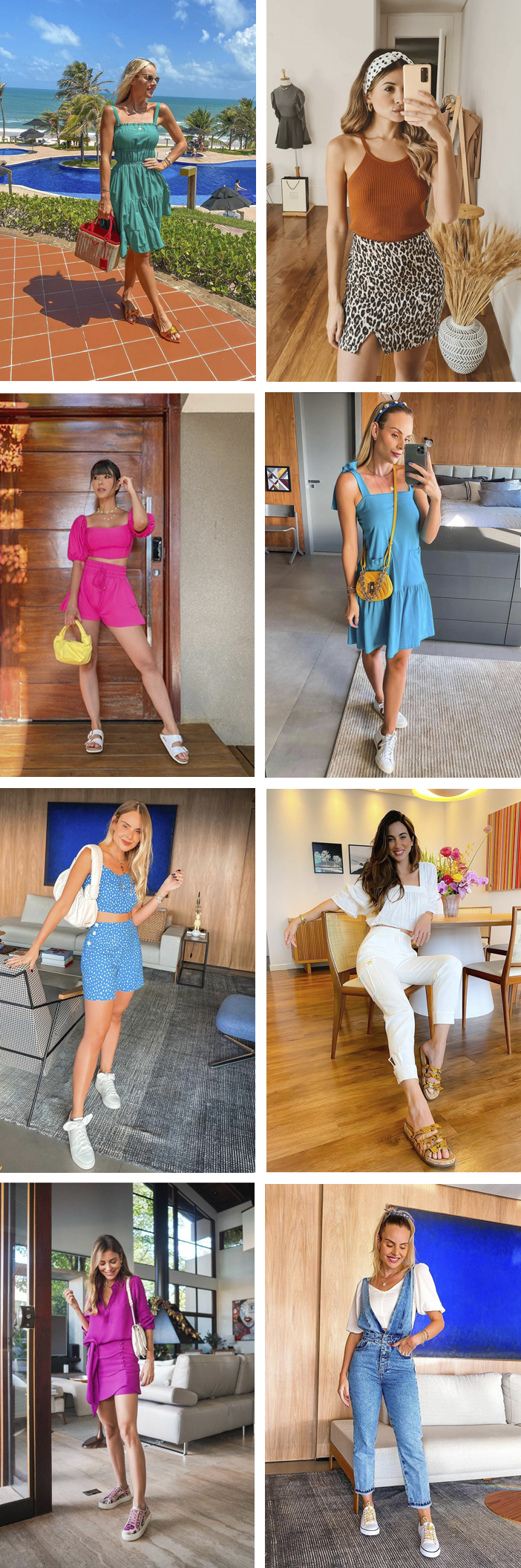 Looks básicos e estilosos para o verão
