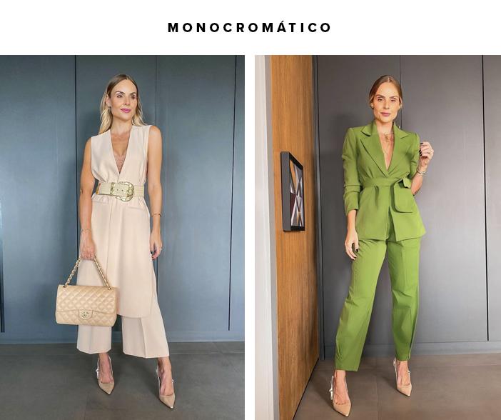 4 Dicas para um look sofisticado - Monocromático