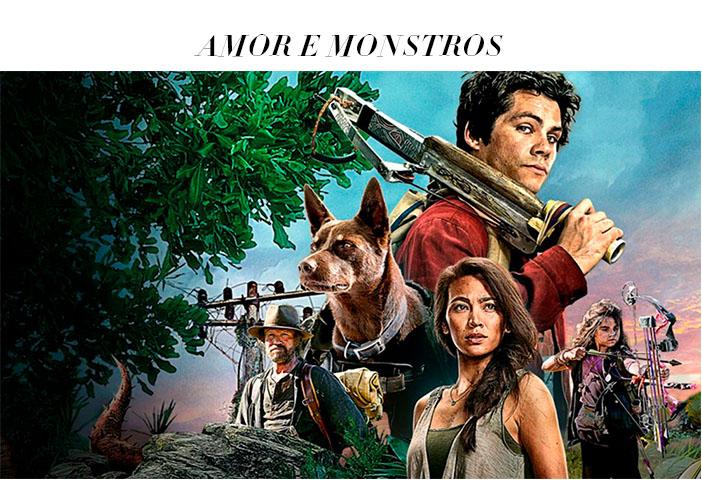 Estreias Netflix Abril 2021 - Amor e Monstros