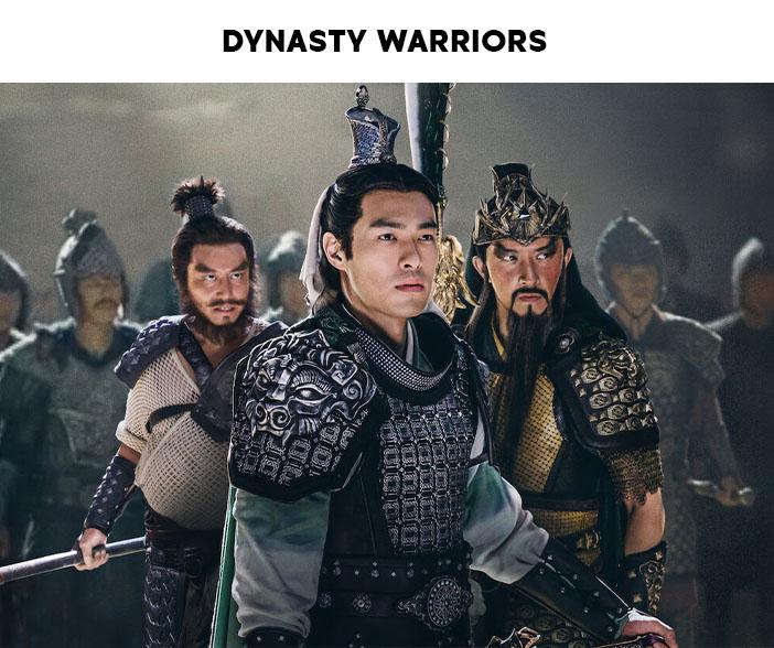 Estreias Netflix Julho 2021 Dynasty Warriors