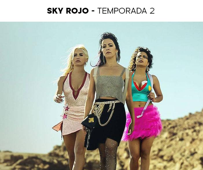 Estreias Netflix Julho 2021 Sky Rojo Temporada 2